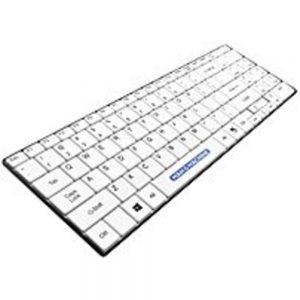 Man and Machine Its Cool ITSC/W5 USB PC Keyboard - White