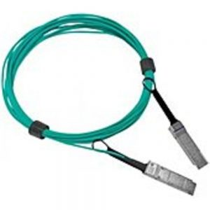 Mellanox 200Gb/s HDR QSFP56 Active Optical Cable - 32.81 ft Fiber Optic Network Cable for Network Device - First End: 1 x QSFP56 Male Network - Second End: 1 x QSFP56 Male Network - 200 Gbit/s - Black