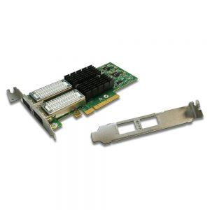 Mellanox ConnectX-3 Vpi 10Gigabit 2-Ports Ethernet Card PCI-E x8 MCX354A-QCBT