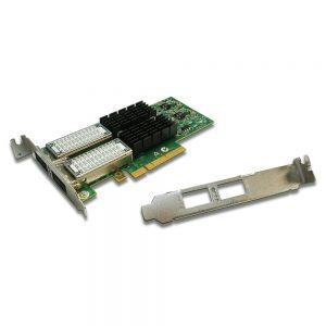 Mellanox ConnectX-3 Vpi 10Gigabit 2-Ports Ethernet Card PCI-E x8 Profile MCX354A-QCBT