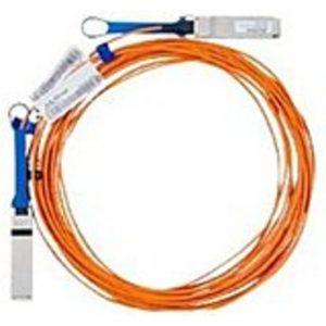 Mellanox MC2206310-015 Infiniband Fiber Optic Cable - Fiber Optic - 49 ft - QSFP