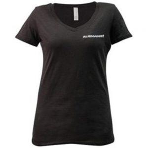 Mobile Edge AWSW1FL Alienware Women's Classic Font Logo T-Shirt - Large - Black