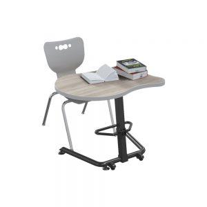 Mooreco 90532-F-8201-HNVY Up-Rite Fender Sit Standing Desk