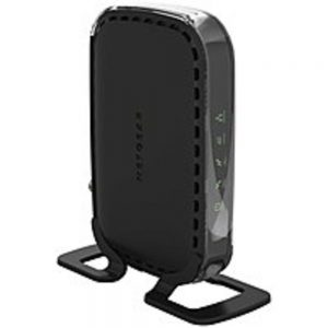 NETGEAR DOCSIS 3.0 CM400-100NAS High Speed Cable Modem - Black