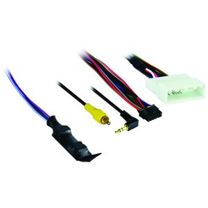 Axxess AX-NIS32SWC-6V Harness with 6-Volt Converter for Nissan (with 4.3-Inch Display) 2010 and Up