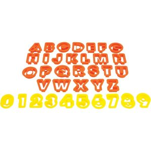 Starfrit 080845-006-0000 The Cookie Cutters (Numbers & Letters)