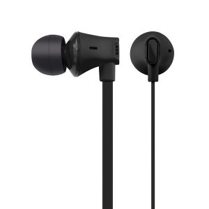 AT&T EBM03-BLK JIVE Noise Isolating Earbuds with In-line Microphone (Black)
