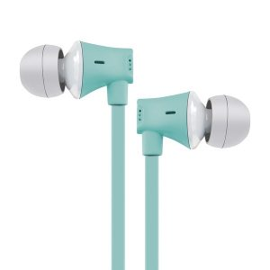 AT&T EBM03-SEA JIVE Noise Isolating Earbuds with In-line Microphone (Seafoam)