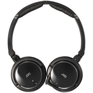 JVC HANC120 Noise-Canceling Headphones with Retractable Cord
