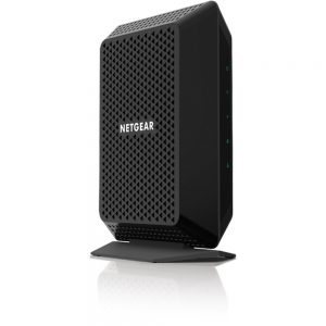 Netgear DOCSIS 3.0 High Speed Cable Modem - 1 x Network (RJ-45) - 1433.6 Mbit/s Broadband - Gigabit Ethernet - Desktop