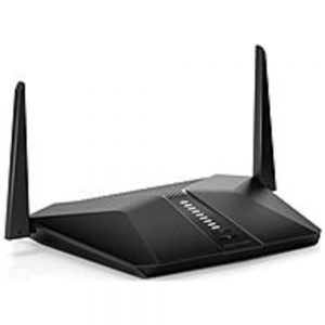 Netgear Nighthawk RAX40 IEEE 802.11ax Ethernet Wireless Router - 2.40 GHz ISM Band - 5 GHz UNII Band - 384 MB/s Wireless Speed - 4 x Network Port - 1 x Broadband Port - USB - Gigabit Ethernet - VPN Supported - Desktop