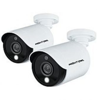 Night Owl CAM-2PK-C20XL 2-Pack 1080p Wired Indoor/Outdoor Camera - White