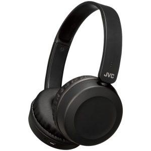 JVC HAS31BTB Foldable Bluetooth On-Ear Headphones (Carbon Black)