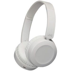 JVC HAS31BTH Foldable Bluetooth On-Ear Headphones (Warm Gray)