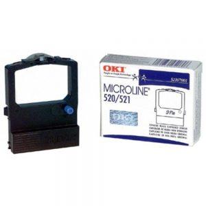Okidata 52107001 Ribbon Cartridge for ML520/521 Printer - Black