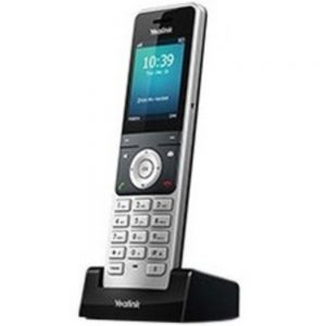 Ooma Yealink W56H Handset - Cordless - DECT - 100 Phone Book/Directory Memory - 2.4 Screen Size - USB - Headset Port - 1 Day Battery Talk Time - Wall Mountable
