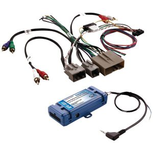 PAC RP4-FD11 All-in-One Radio Replacement & Steering Wheel Control Interface (For select Ford vehicles with CANbus)