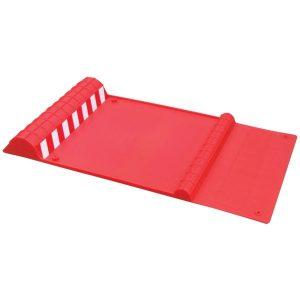 MAXSA Innovations 37359-RS Park Right Parking Mat (Red)