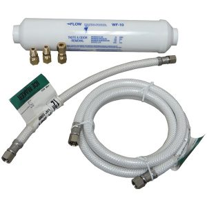 No Logo LF4096323206014 Poly-Flex Ice Maker Connector Kit with Water Filter