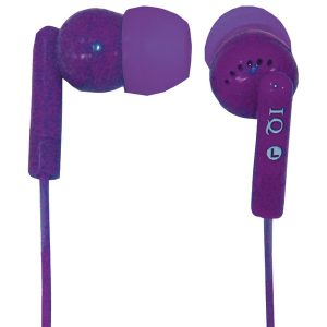 Supersonic IQ-106 PURPLE Porockz Stereo Earphones (Purple)