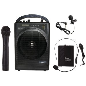 Pyle Pro PWMA1216BM Portable Bluetooth Amp & Microphone System