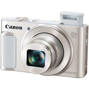 Canon 1074C001 20.2-Megapixel PowerShot SX620 HS Digital Camera (Silver)