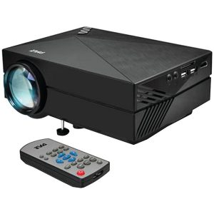 """Pyle Home PRJG82 Compact Digital Multimedia Projector with up to 130"""" Display"""