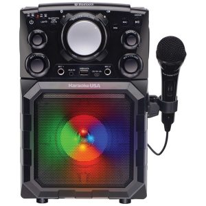 Karaoke USA GQ410 Portable MP3 Karaoke Player with Bluetooth