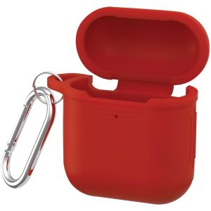 iEssentials IEN-AIRC-RD Protective Silicone Case for Apple AirPods (Red)
