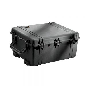 Pelican 1690 Transport Case With Foam 410 LB Black 1690-000-110
