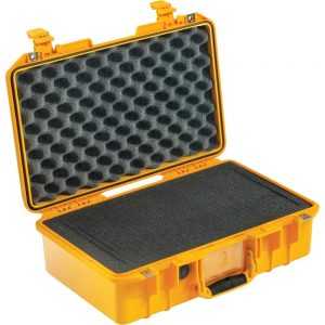 Pelican Air 1485 Compact Hand-Carry Case With Foam Yellow 014850-0000-240 (Retail Unused Open Box)