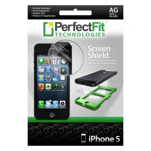 Perfect Fit Screen Shield Screen Protector for iPhone 5