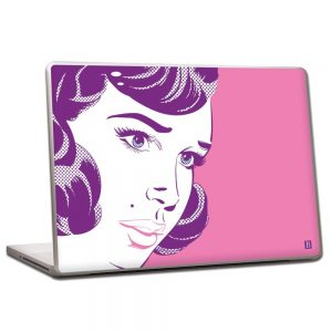 Pierre Belvedere 076530 Removable Skin for 15-inch Laptops - Pop Girl