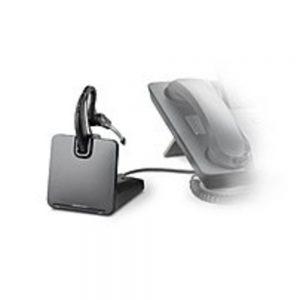 Plantronics CS 500 Series 86305-11 CS530/HL10 Headset with HL10 Handset Lifter - Wireless DECT 6.0 - Black