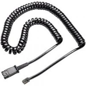 Plantronics Polaris 27190-01 Cable for Headset with Quick Disconnect