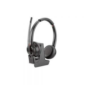 Plantronics Savi 8200 Series Headset and Charging Cradle 211423-02