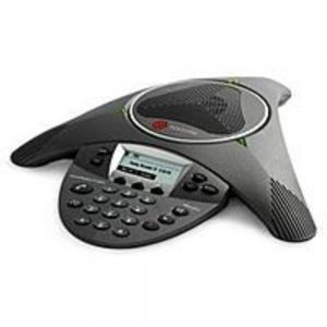 Polycom 2200-15600-001 SoundStation IP 6000 SIP Conferencing Phone with PoE support