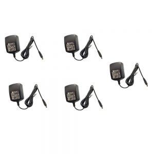 Polycom 2200-40350-001 12V 0.5A Power Adapter For VVX101 VVX201 Phones 5-Pack