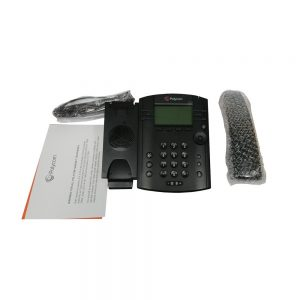 Polycom VVX 311 2200-48350-019 6 Total Lines IP Phone For Business Edition 2200-48350-019