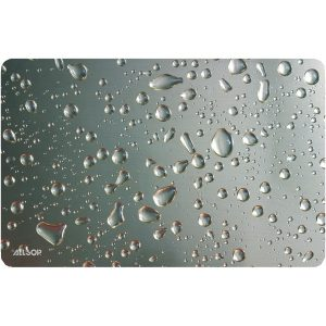 Allsop 29648 Widescreen Metallic Raindrop Mouse Pad