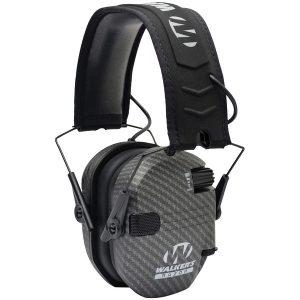 Walker's Game Ear GWP-RSEM-CARB Razor Electronic Muff (Carbon)
