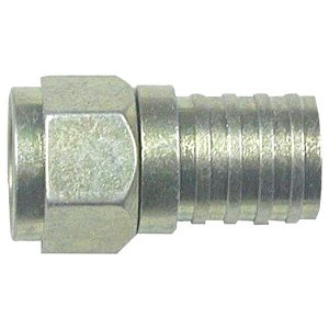 Eagle Aspen 500285 RG6 Zinc-Plated Connectors with O-Ring & Gel