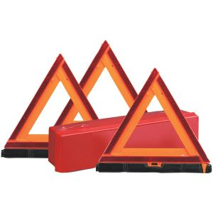 Sate-Lite 73-0711-00 Early-Warning Triangle Triple Kit