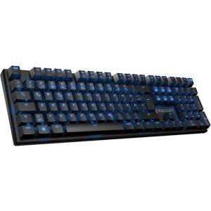 ROCCAT EMP-HIRO-SFXBE Suora FX Wired Frameless Mechanical Gaming Keyboard - Blue