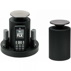 Revolabs FLX 2 10FLX2200DUALV VoIP Conferencing System with Two Omnidirectional Microphones