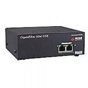 Rose Electronics CrystalView Plus CRV-MRU2V Mini USB Remote KVM Extender - Black
