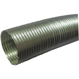 "Deflecto A058/5 Semi-Rigid Flexible Aluminum Duct (5"" dia x 8ft)"