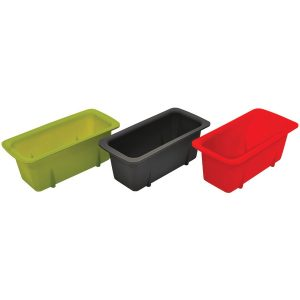 Starfrit 080335-006-0000 Silicone Mini Loaf Pans