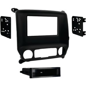 Metra 99-3014G ISO-/Double-DIN Installation Kit for 2014 and Up Chevrolet Silverado 1500/GMC Sierra 1500
