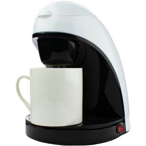 Brentwood Appliances TS-112W Single-Serve Coffee Maker with Mug (White)